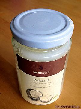 Ein Glas Kokosöl von MeineOele.de