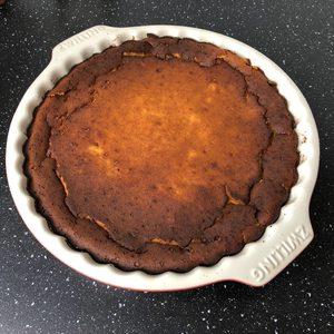 Glutenfreier Kurbis Quark Kuchen