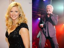 Veronika Ferres und Tom Jones